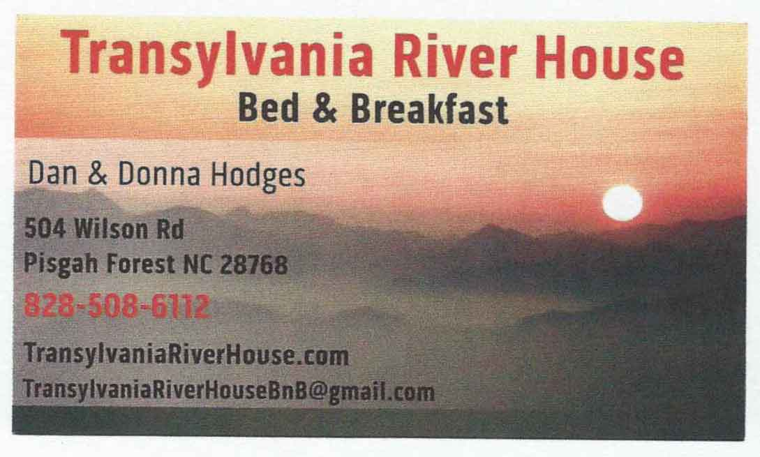 TRH-BnB-Business-Cards local lodging