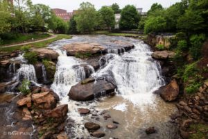 Reedy River Falls, Greenville, SC
