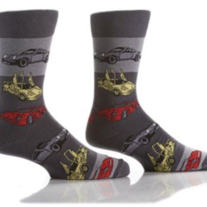 YO SOX MEN'S CREW SOCK, EXOTIC CARS #411699