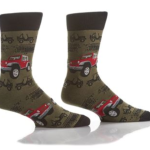 YO SOX MEN'S CREW SOCK, RUGGED RIDE #411714