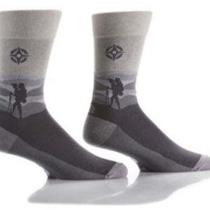 YO SOX MEN'S CREW SOCK, EXPLORER #411684