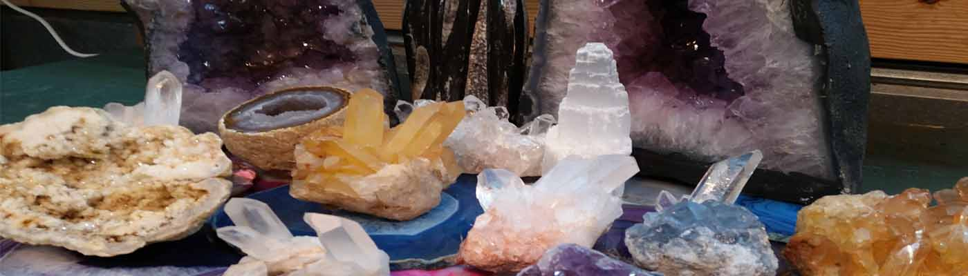 A great selection of Gems and Minerals