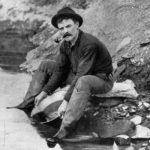 Gold Panning in the National Forest