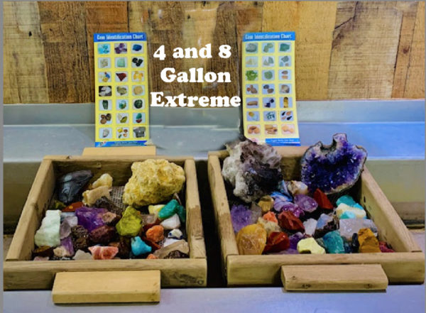 4 and 8 gallon extreme